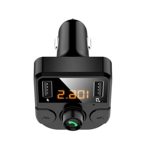 Bluetooth Car FM Transmitter MP3 Radio Wireless Adapter Kit Charger