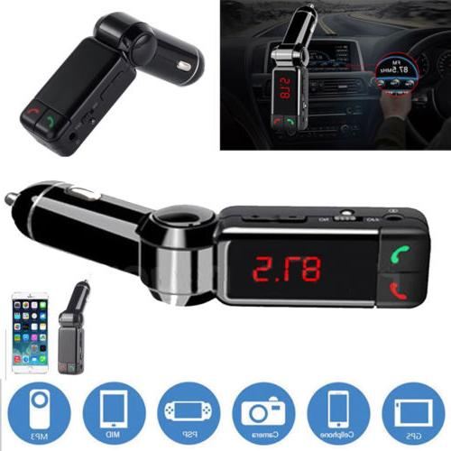 Bluetooth Car USB Charger Handsfree US