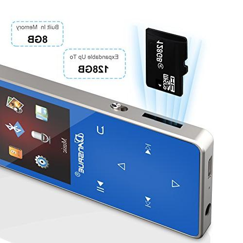Bluetooth M01 Player FM E-book by Inch Hours Playback Up