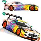 Scalextric C3941 Mercedes AMG GT3 SunEnergy1 Racing Slot Car