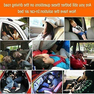 Car Air Bed Inflatable Mattress Two Pillows for Travel