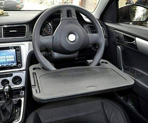 Car BIG TABLE Steering Wheel Food Tray DESK for Lunch Laptop
