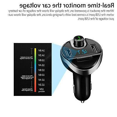 Transmitter Car USB Charger