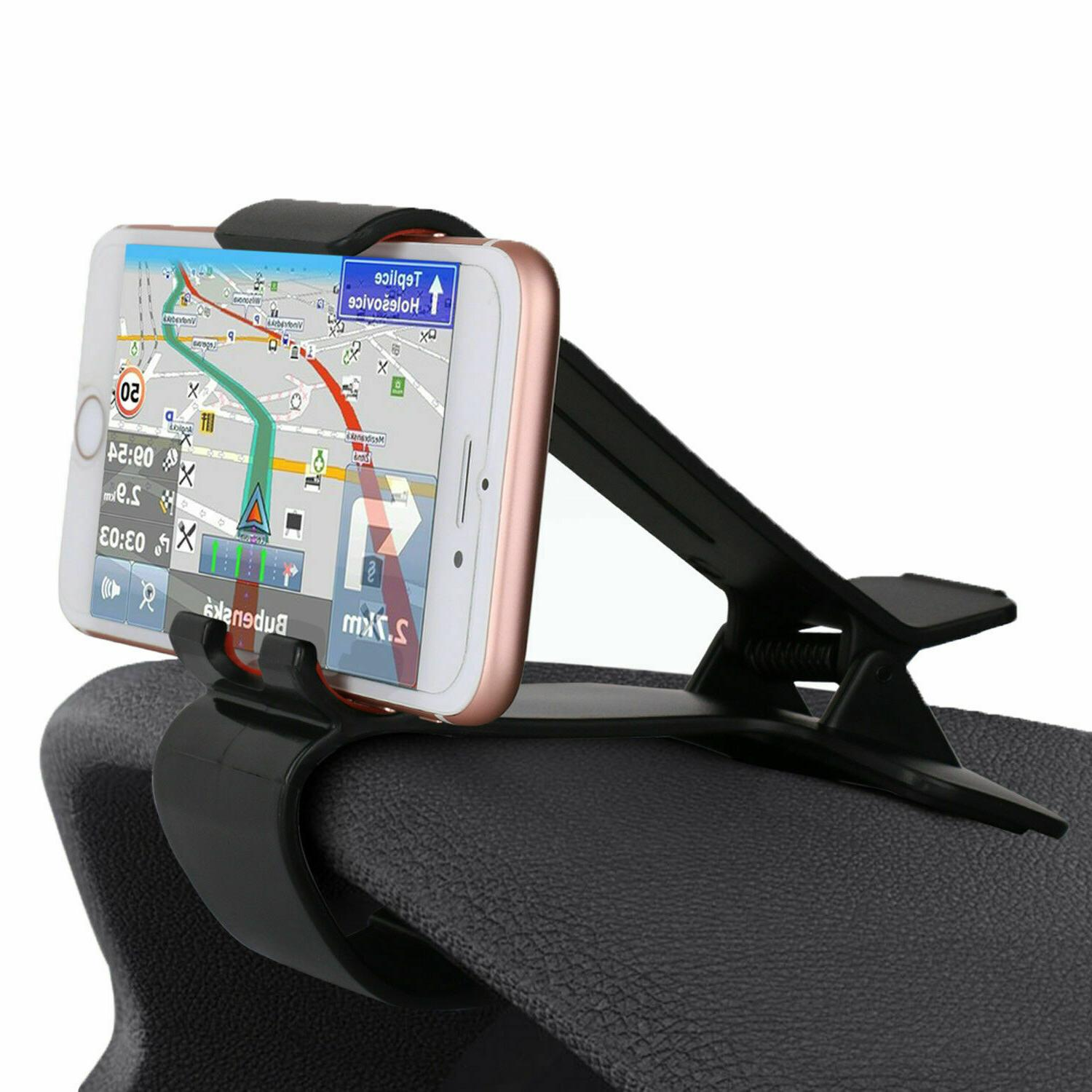 car dashboard clip mount holder stand