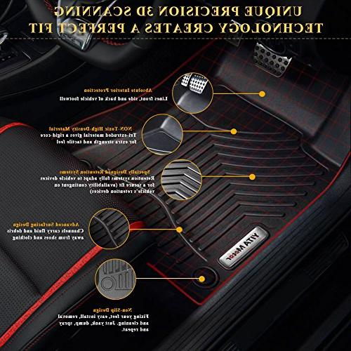 YITAMOTOR Car Mats Compatible for Escape, & Liners