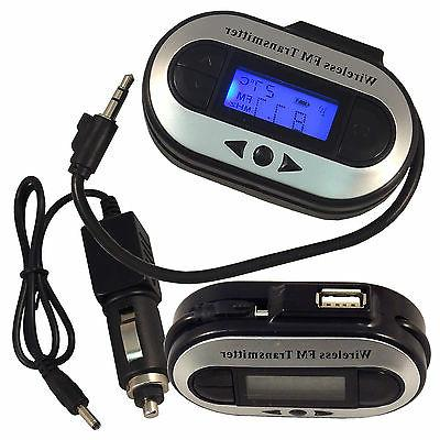 Car Transmitter 3.5mm Charger