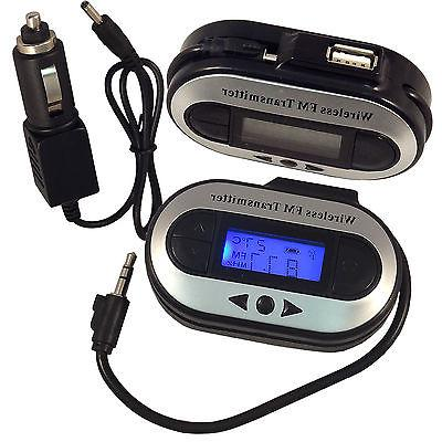 Car MP3 Transmitter Charger for