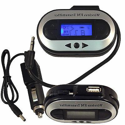 Car FM Transmitter Charger for iPhone