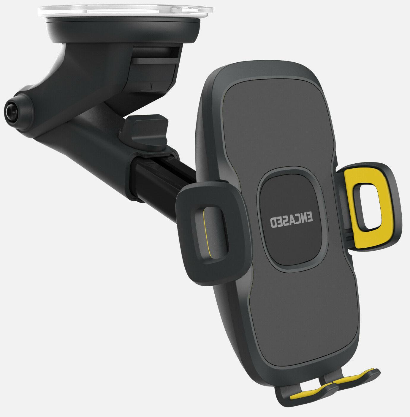 Car Phone Holder Dash/Window Mount for Galaxy Plus/Note 10/20 Ultra