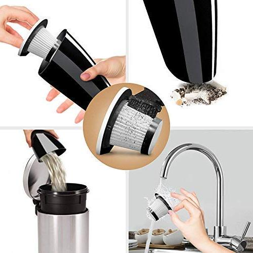 Car Power 120W - Portable Handheld Cleaner 12V Outlet of Car Long Power Cord 16.4FT - -