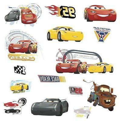 cars 3 movie wall decals