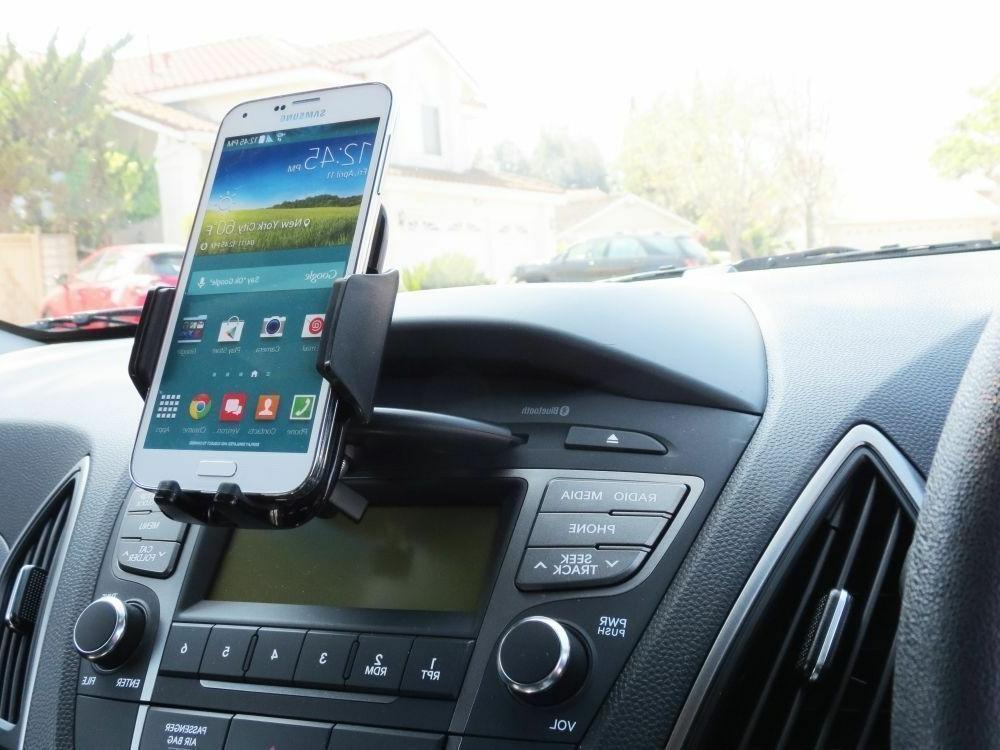 CD Slot Car Holder Universal Cell Phone Car iPhone 8