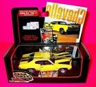 ROAD CHAMPS CHEVY CHEVELLE 1970 SS DIECAST YELLOW BLACK CAR