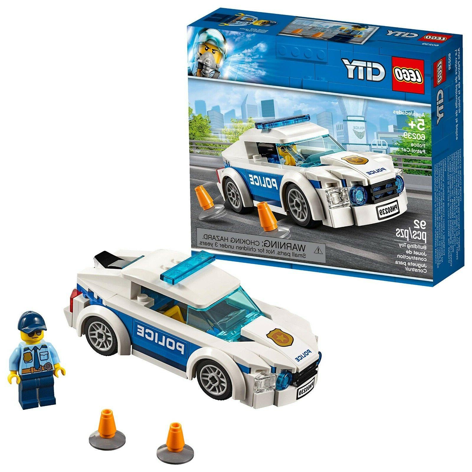 city police patrol car 60239 building kit