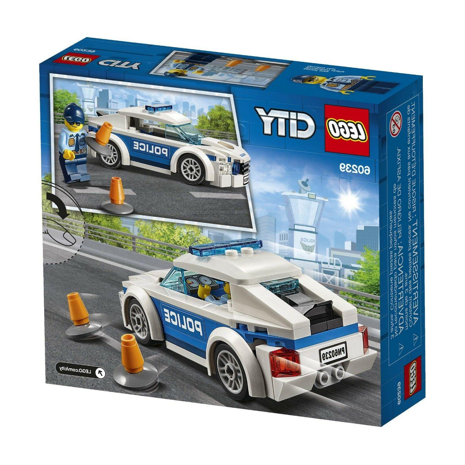 LEGO City Police Patrol Car 60239 Building Toy For Kids