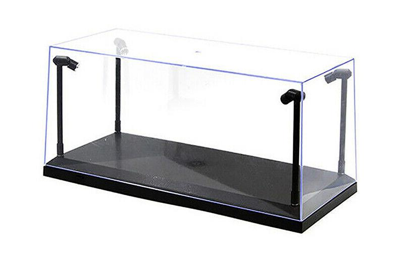 collectible acrylic display case w led lights