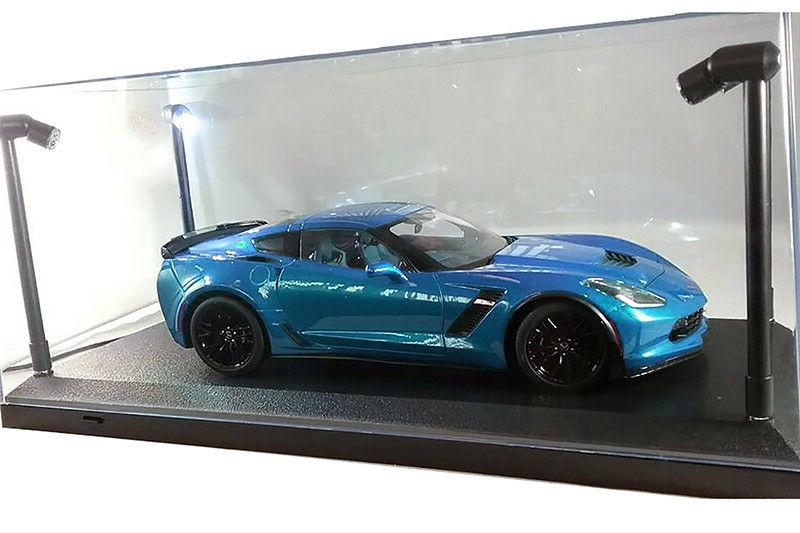 Collectible Display Case w. LED 18 Diecast car