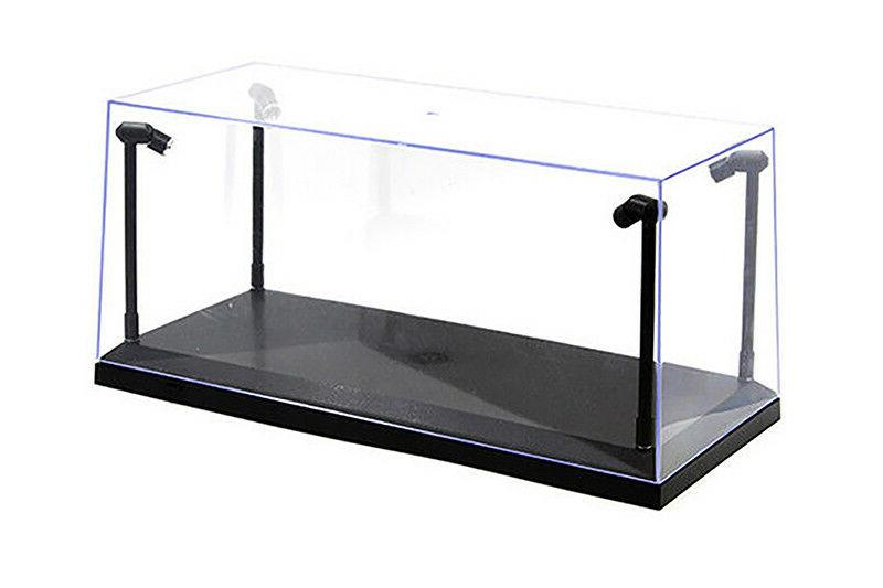 collectible display case w led lights