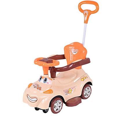 Costzon Kids Ride On Push Car, 3 in 1 Sliding Swinging Wagon