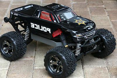 custom body police style for traxxas stampede