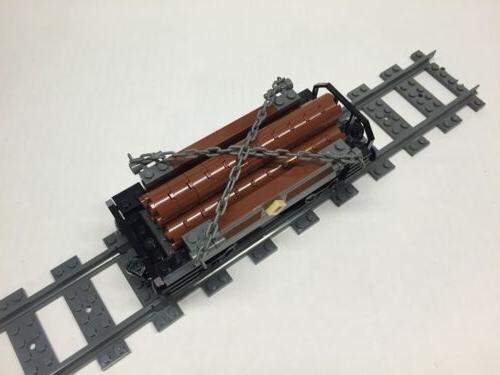 LEGO Custom Logging Car Very parts