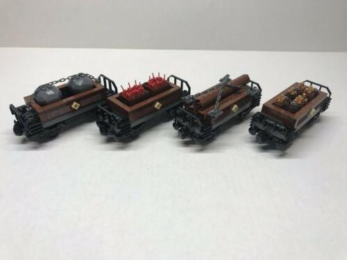 custom train car collection for 10194 emerald