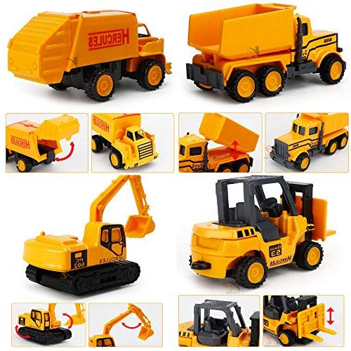EASTiii Construction Play Vehicles Truck, Baby Toys Gift Boys Children