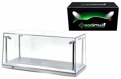 diecast model Clear Display silver Case 1/18 scale models