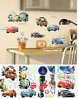 Roommates Disney Cars 2 Peel and Stick Wall Decals Stickers