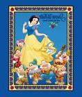 Disney Classic Snow White & the Seven Dwarfs Quilt cotton fa