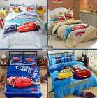 DISNEY McQueen 95 Cars Cartoon Movie 100%Cotton Duvet Cover