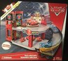 Disney Pixar Cars Piston Cup Racing Garage Playset w/ Lightn