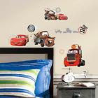 Disney Pixar Cars Team Peel Stick Wall Decal Decoration Kids