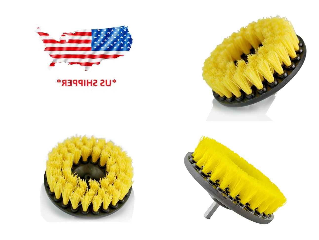 5 inch drill brush for car carpet