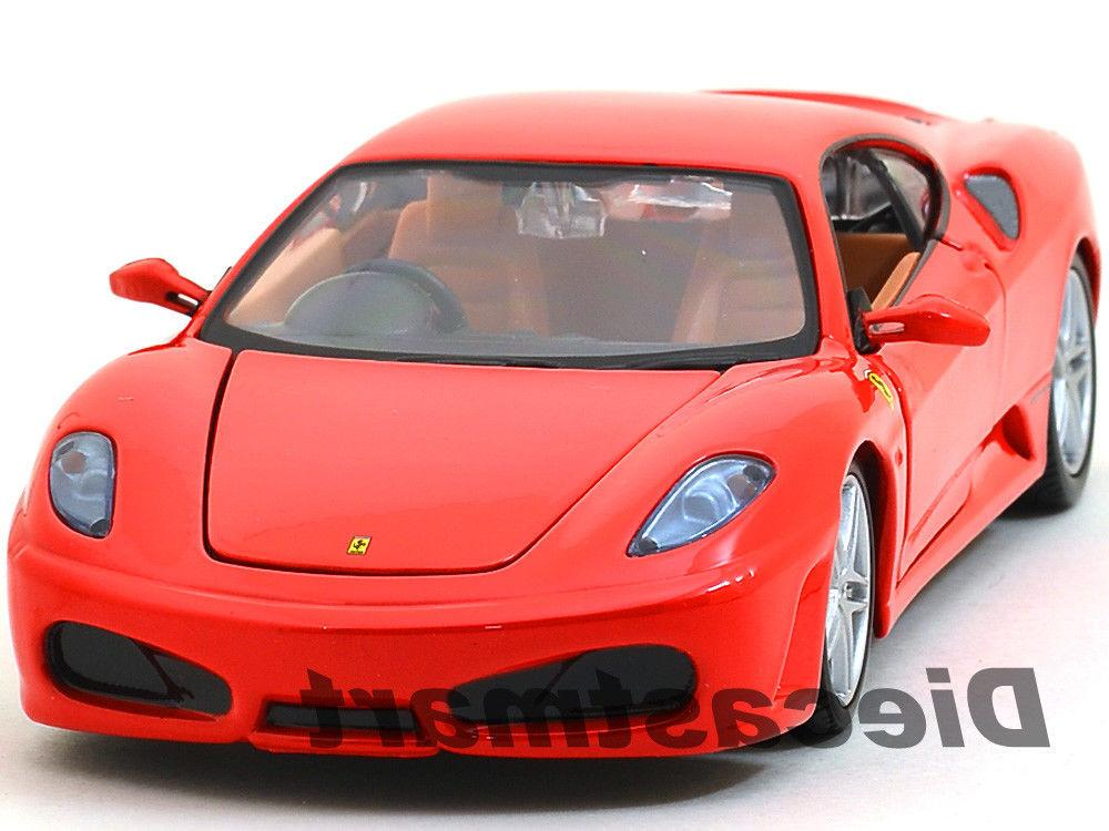 ferrari f430 red coupe 1 24 diecast