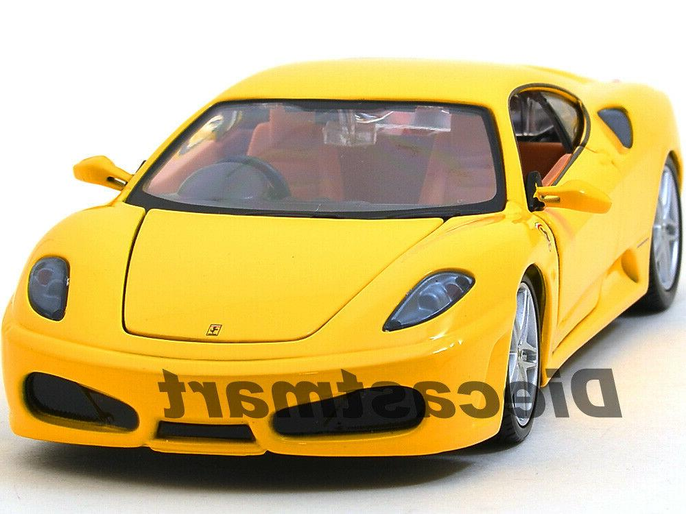 ferrari f430 yellow coupe 1 24 diecast