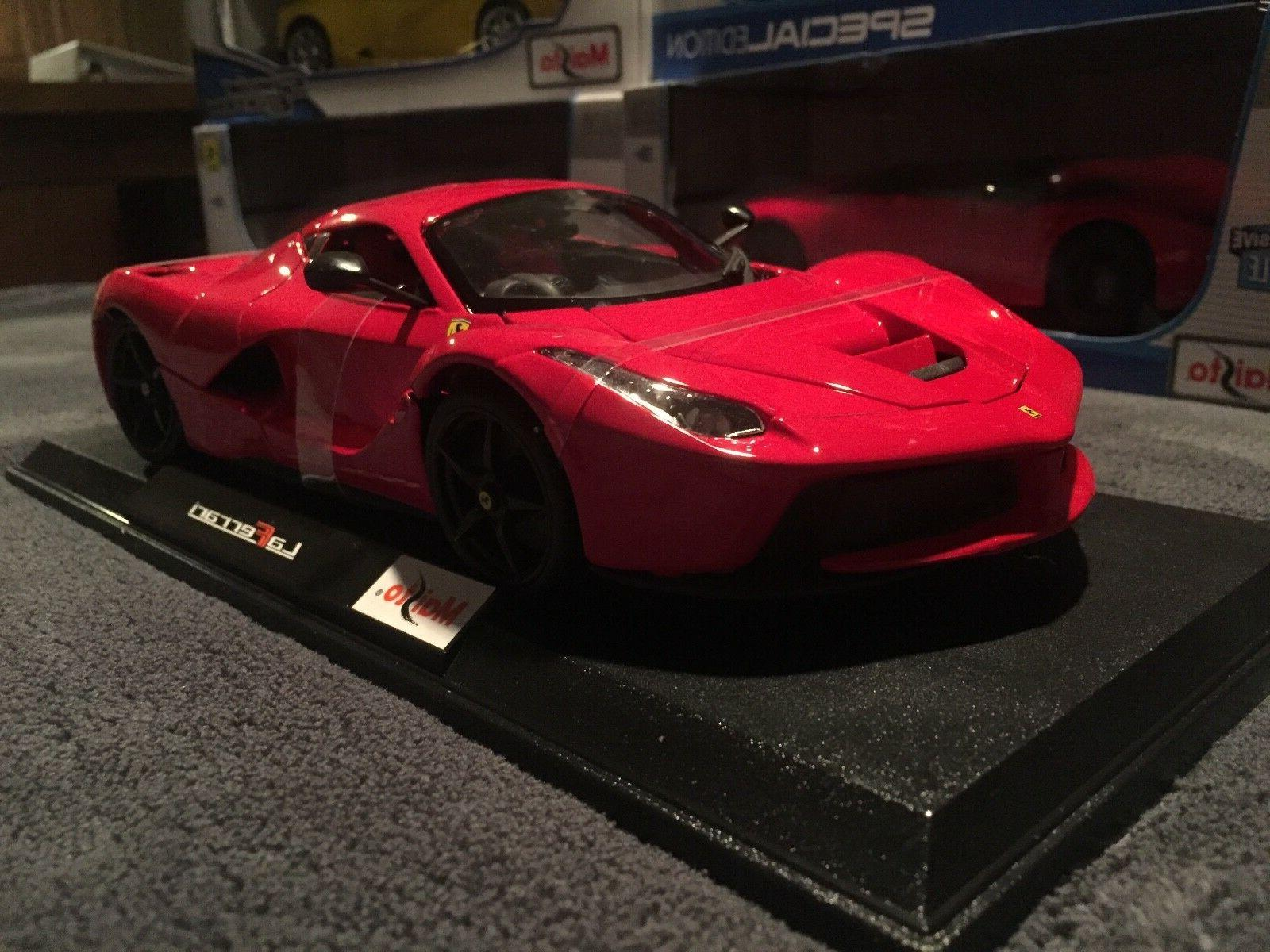 Ferrari 1:18 scale Maisto Cast - Red