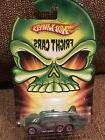 Hot Wheels Fright Cars Fast Fortress Car Olive Green Eyes Ha