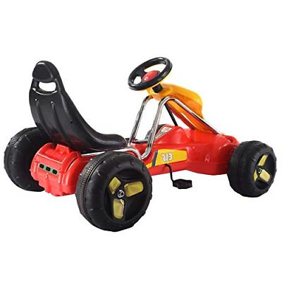 Costzon Kart, Wheel Ride Car, Pedal On Toys for with