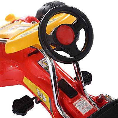 Costzon Wheel Ride on Pedal Powered Toys for with