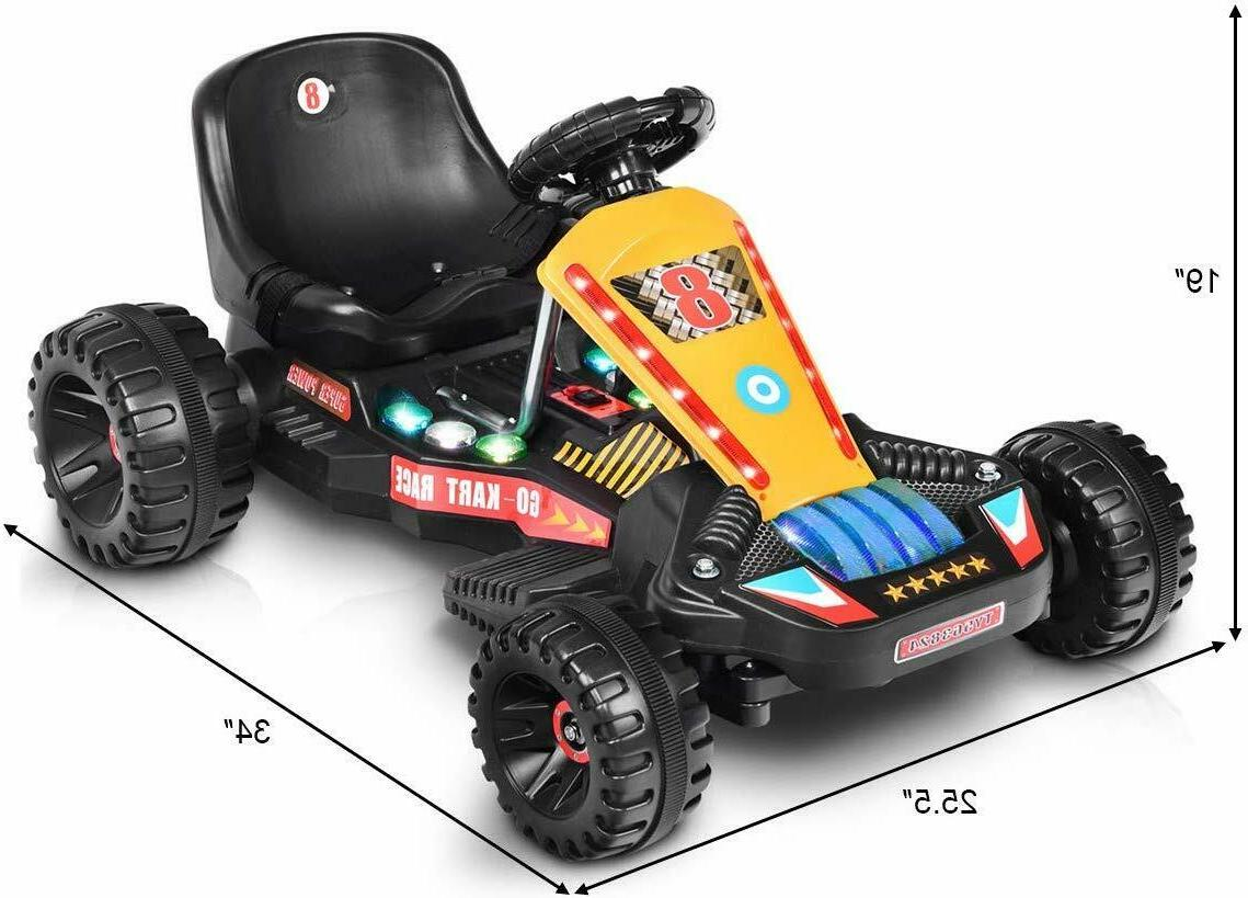 Go Ride Pedal Powered Ride for Boys & Girls ADJUSTABLE