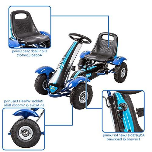 Kinbor Kart/Pedal Powered for Boys with