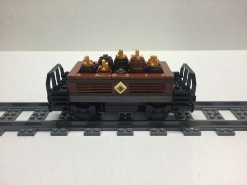 LEGO Gold Freight for Emerald Night. Very nice all