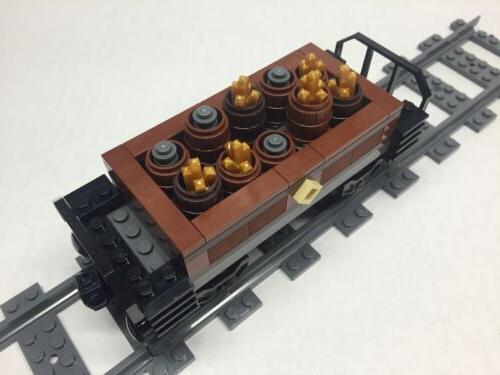 LEGO Gold & Freight for Emerald Night. Very nice all parts