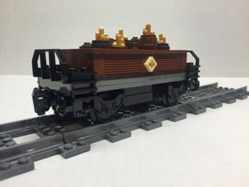 LEGO Gold & Ore Freight Car Emerald Very all new parts