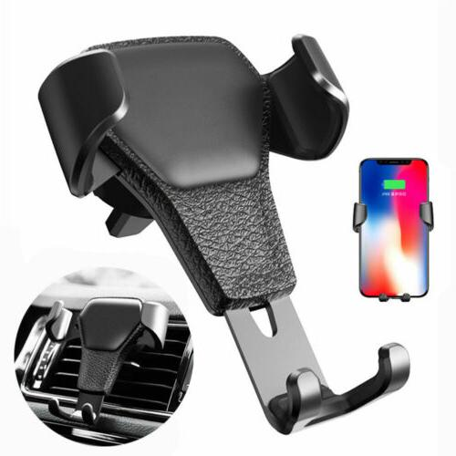 Gravity Mount Cradle Holder Stand for Mobile Cell Phone