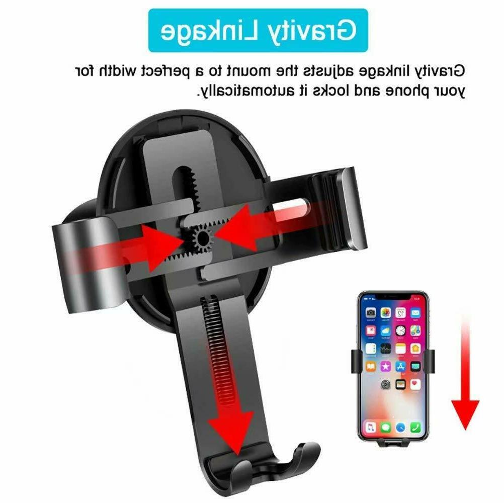 Gravity Air Mount iPhone Max Note 9