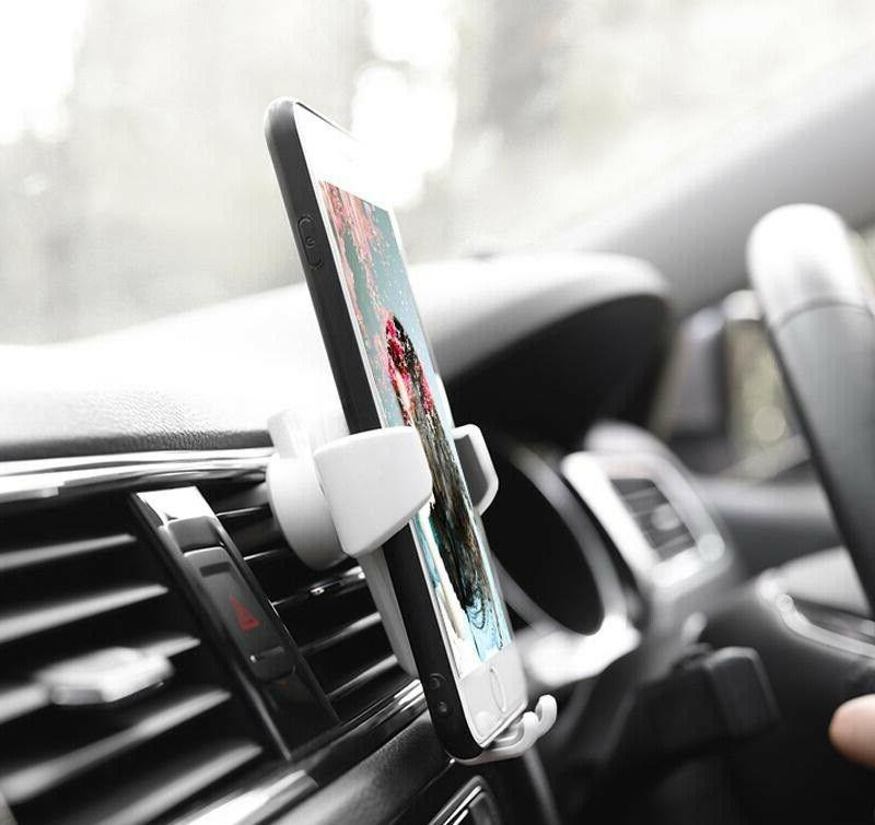 Gravity Air Mount Phone iPhone Max S10 Note 9