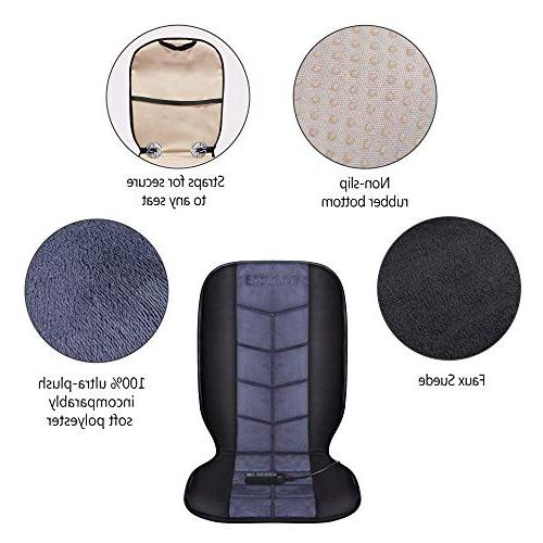 COMFIER Seat Cushion - 12V Heater 2 of Full and Heated Car,Home,Office CF-2613