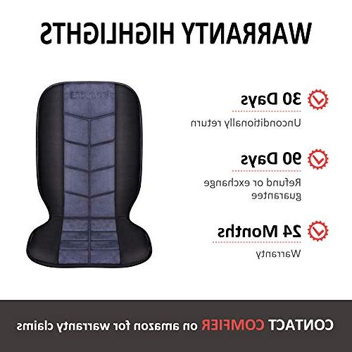 COMFIER Car Seat Cushion - Car Heater with 2 of Heating Full Back and Car,Home,Office